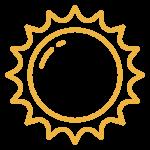 Mad Turkey Farm Sun Icon